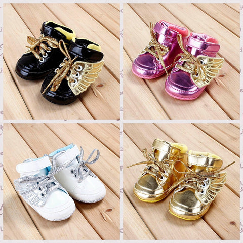 Baby Girls Fashion Toddler Shoes Suit for 0-18M Mutli-Color