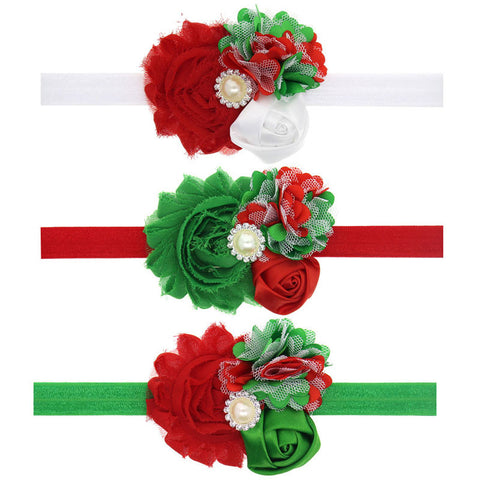 Christmas Headband for Newborn Gifts Infants Photo Props Headband Hairbands 1pc HB463
