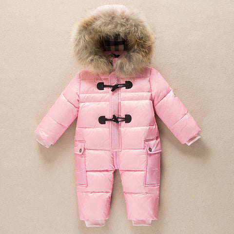 0~3 Years Baby Girl/Boys Down Winter  Snowsuit