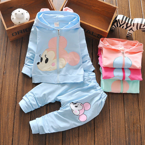 2 Pcs Suits Kids Clothes Suits Minnie