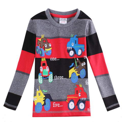 100% cotton boy t-shirt  new design hot sale Children tees