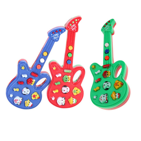 Electronic Guitar Rhyme Developmental Music Sound Toy