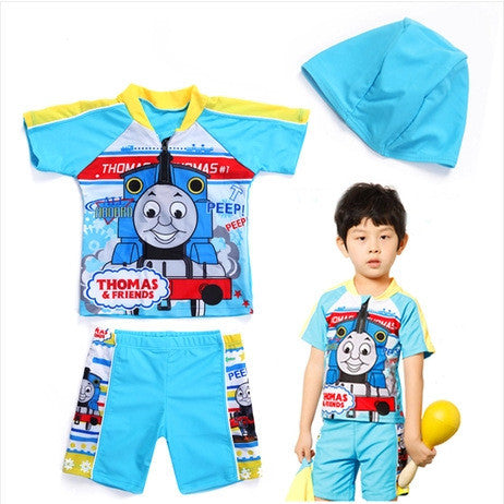 ,5-12Y Children's 3 Pieces Beach Clothing For Kids