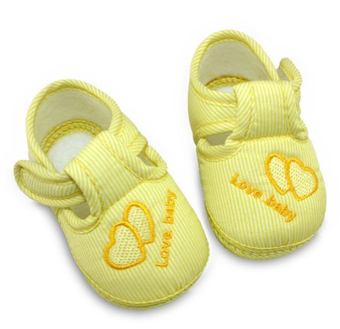 Unisex Soft Sole Skid-proof Kids girl infant Shoe First Walkers,prewalker 0-12 Months
