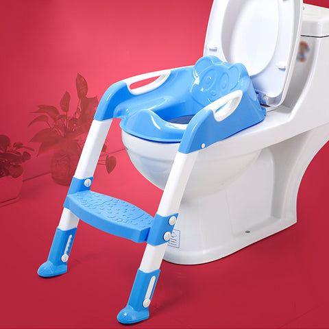 Baby Toddler Potty Chair With Adjustable Ladder