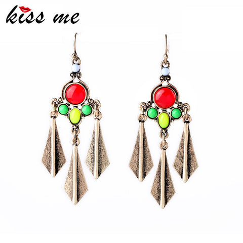 Hot Alloy Pendants Rock Antique Earrings Factory Wholesale