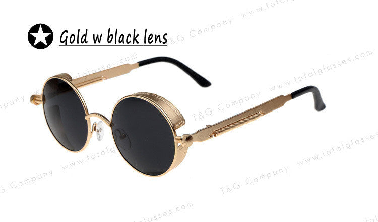 Metal Thick Brand Flex Sunglasses Unisex Super Vintage Glasses Flash MIrror Lens Outdoors Girl