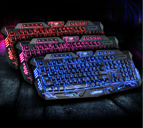 Professional Gaming Keyboard with backlights