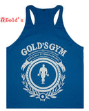 MCU1 Men's Gym Tank Tops Running T-shirts Workout Singlets Fitness Bodybuilding Training Undershirt