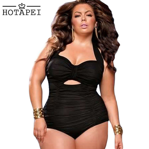 Plus Size One-piece Swimwear
