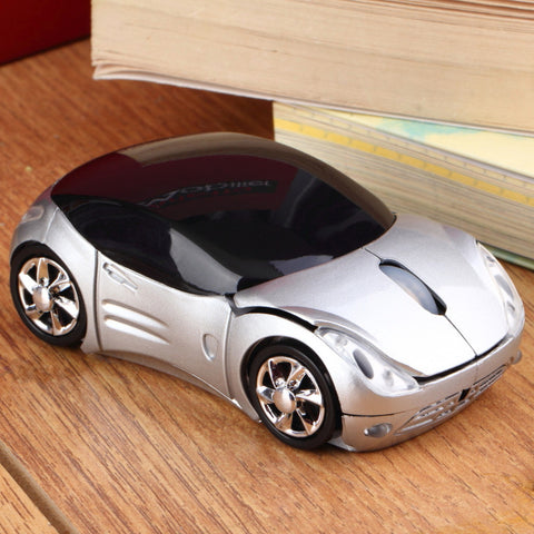 Car Shape Wireless USB Mouse