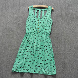 New Women Leopard Print Casual Dress