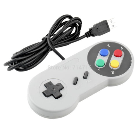 1 x Retro  Nintendo SNES USB Controller for PC for MAC Controllers SEALED