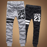 Spring new arrival cotton pants sports trousers men's Outdoor joggers Leters trousers CH236