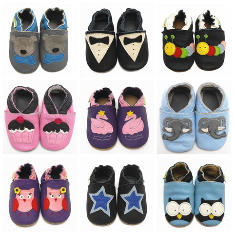Baby Moccasins Soft SoleBaby Shoes Kids First Walkers