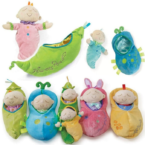 Baby Doll Plush Toys Baby Placate Toy Gifts for Girls Children's Christmas Gifts Manhattan