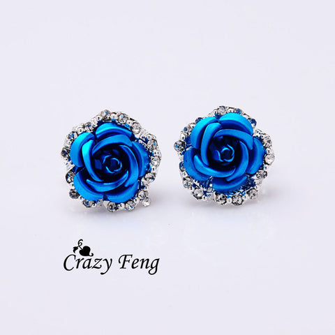 6 Colors Stud Earrings Jewelry