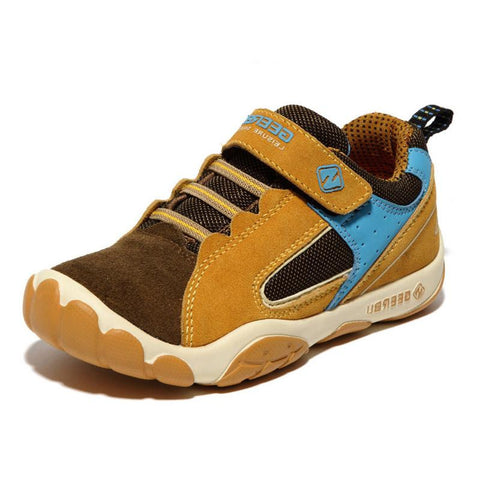 breathable kids leather sneakers sport shoes casual sneakers