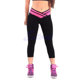 Hot Leggings Women's High Waist Sexy Sportswear Stretch Fitness YOGA Sport Pants