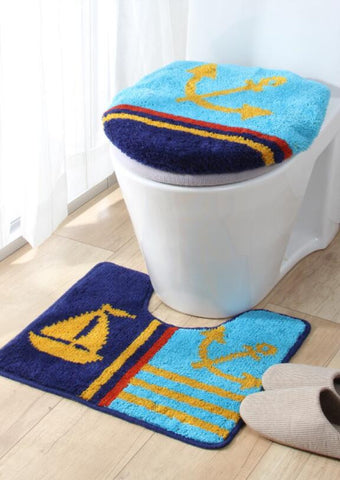 3Pcs/set New Bathroom Mat Set