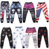 Men's  homme plus size Sport sweatpants jogging harem pants men trousers