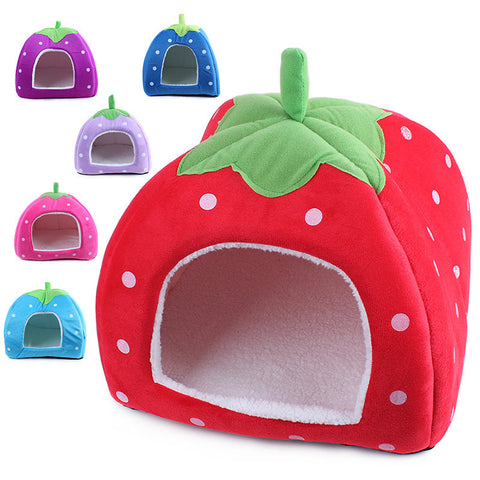 Creativeel Doggy Warm Cushion Basket strawberry  4 colors available