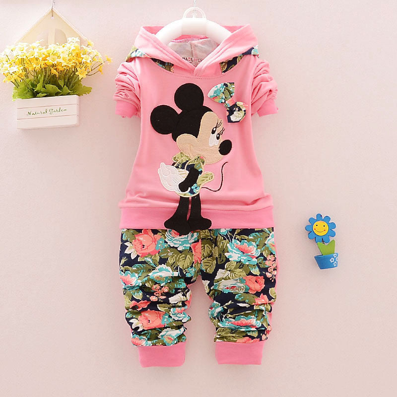 t-shirt + pants 2pcs / set minnie