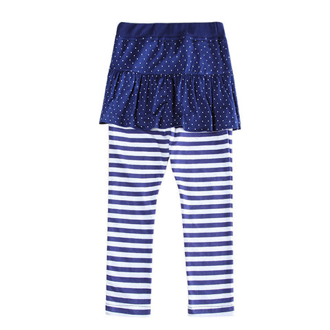 Baby Girls fashion Leggings,Navy Bow  Kids fashion Pants,Girl fashion Striped Leggings,Dot Skirt pant