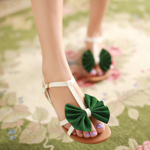butterfly-knot mixed color women sandls high heel women sandal breathable comfort women sandals E339