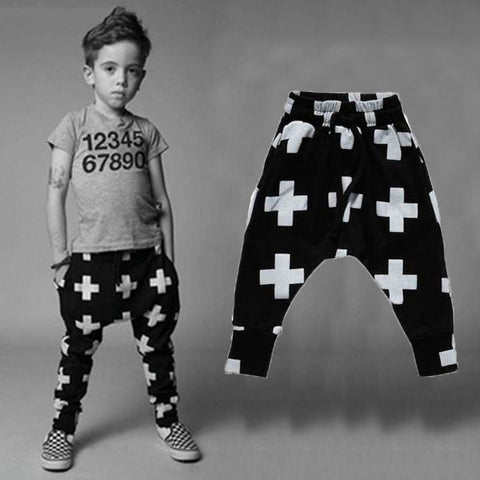 Children Harem Pants New Fashion Toddler Child Trousers Baby Clothes