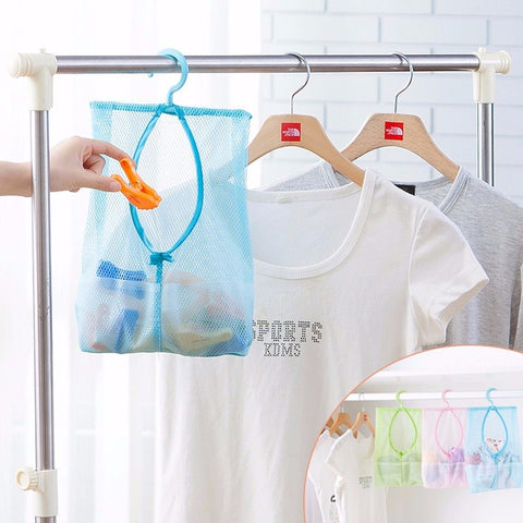 Hanging Mesh Storage Bag For Clothes Toys or Underwear