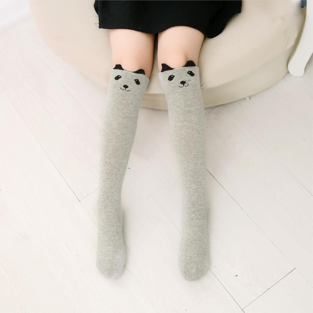 Cotton Baby Kid Socks Knee High Long Socks For Toddler Girl Clothing Accessories