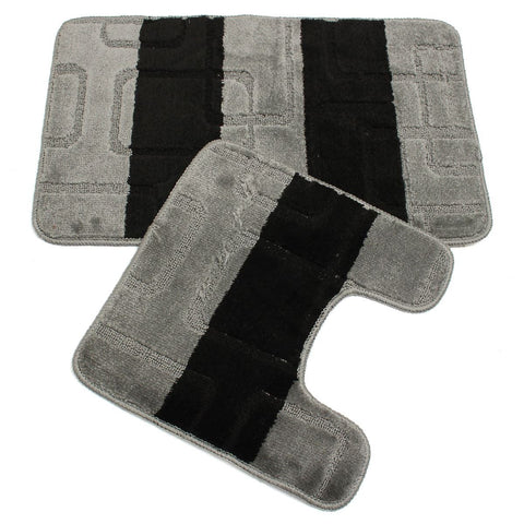 2 Piece/set Toilet Rug Sets Color Randomly