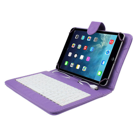 7 inch Universal Case with USB Keyboard