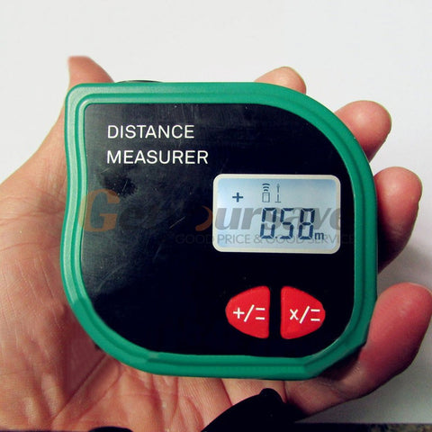 18m Digital Laser Ultrasonic  Handheld Measuring Tape