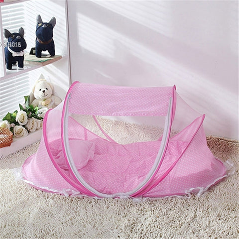 Baby Mosquito Net bed net can Cotton-padded Mattress Pillow Tent Foldable Portable