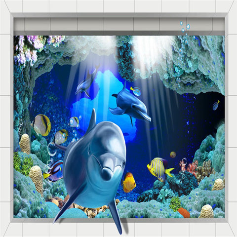 3D Bathroom bathroom wall mural we need size of wall to give exact price