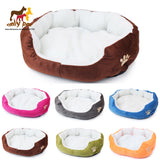 New Small Fleece Pet Dog Cat Kennel Puppy Dog Cat Bed Indoor house Dog Cat Mat