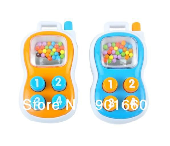 AOBEI New Baby Pram Crib Toy Activity Mobile Phone Rattles