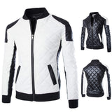 New Arrival Motorcycle Zipper Leather Jacket