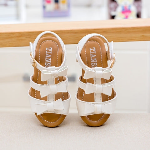 Butterfly Knot beach shoes 1-3 years old fashion sandals