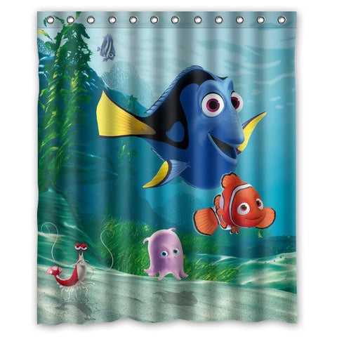 Finding  Nemo Shower  Curtains 9 different choices