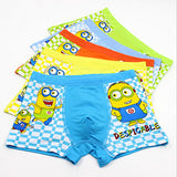 Spiderman Minions Superman Despicable Me Children Kids Cartoon Boxer Briefs Panties 5pcs/lot