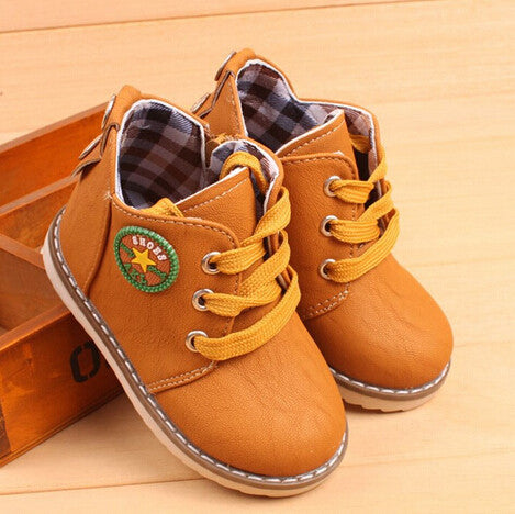 Children Cotton shoes Martin bootsCotton Ankle boots