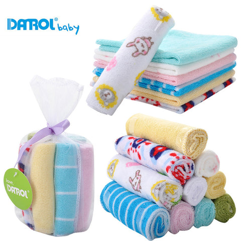 8pcs/lot towel handkerchief for children feeding bathing face washing