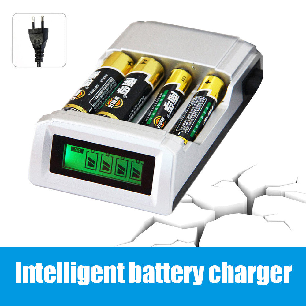 Battery Charger for AA / AAA with LCD