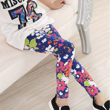 New Girls Clothes Flower Baby Kids Leggings for Girls Toddler Children Clothing Pants Trousers