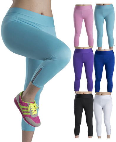 Thin Candy Color Fluorescent Leggings