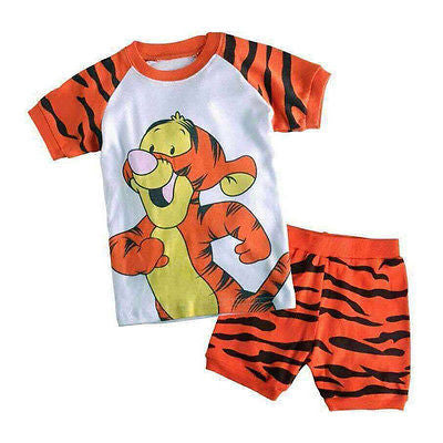 2Pc Tiger  Pajamas
