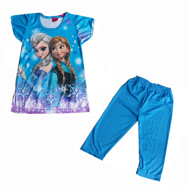 Children Clothes Red Blue Purple Pink Character Clothes WI30003